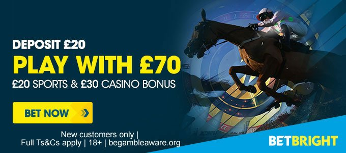 BetBright free bets