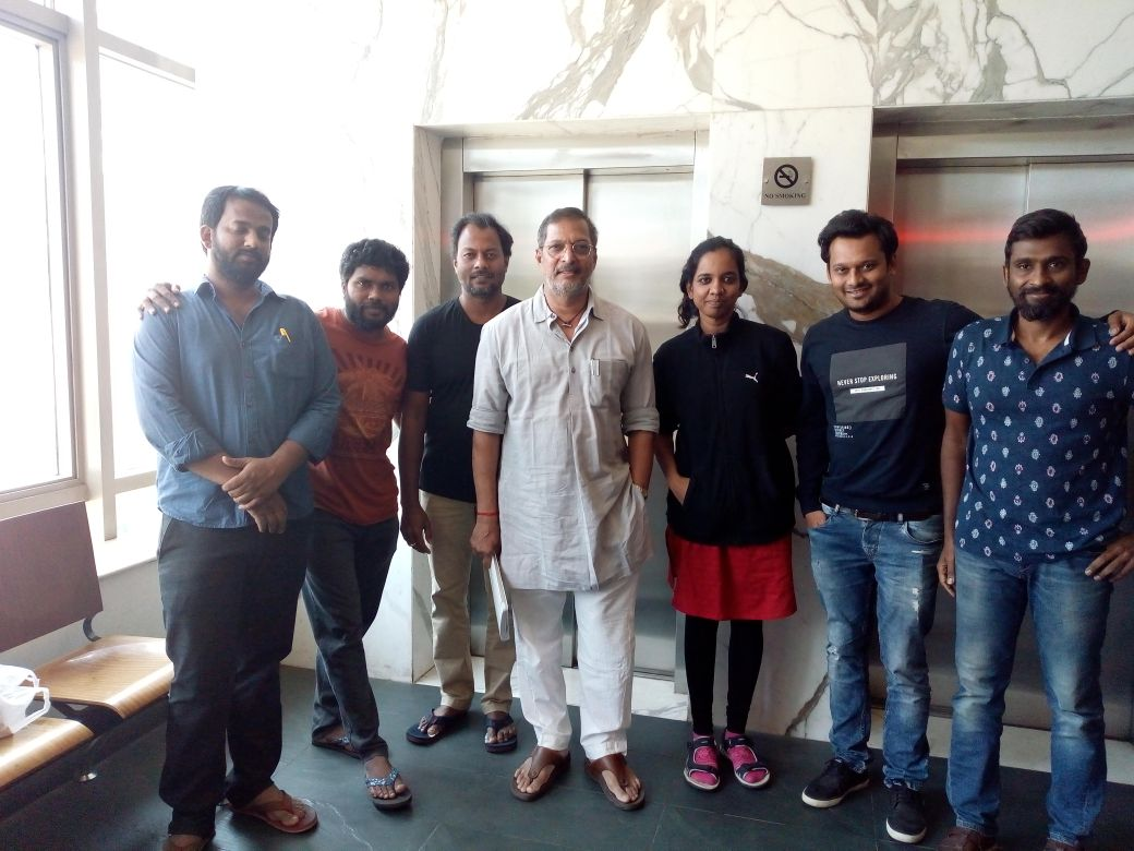 Nana Patekar busy with Kaala Dubbing