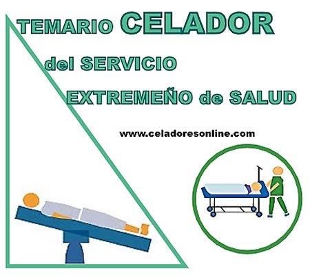 Anexo IV. Temario Celador Servicio Extremeño de Salud DXmdIdGW4AAvF46