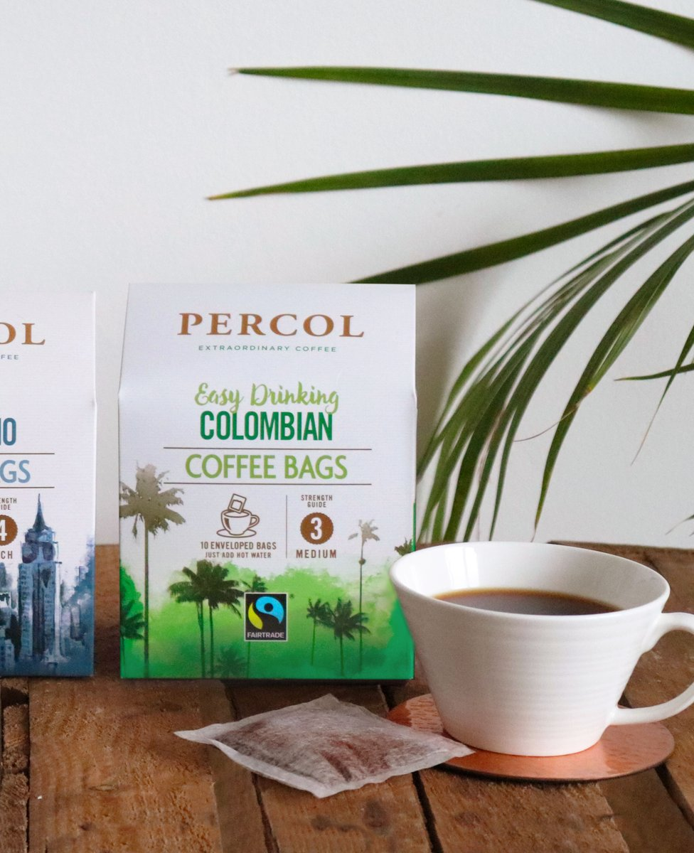 Percol Coffee On Twitter Our Colombian Coffee Bags Are As