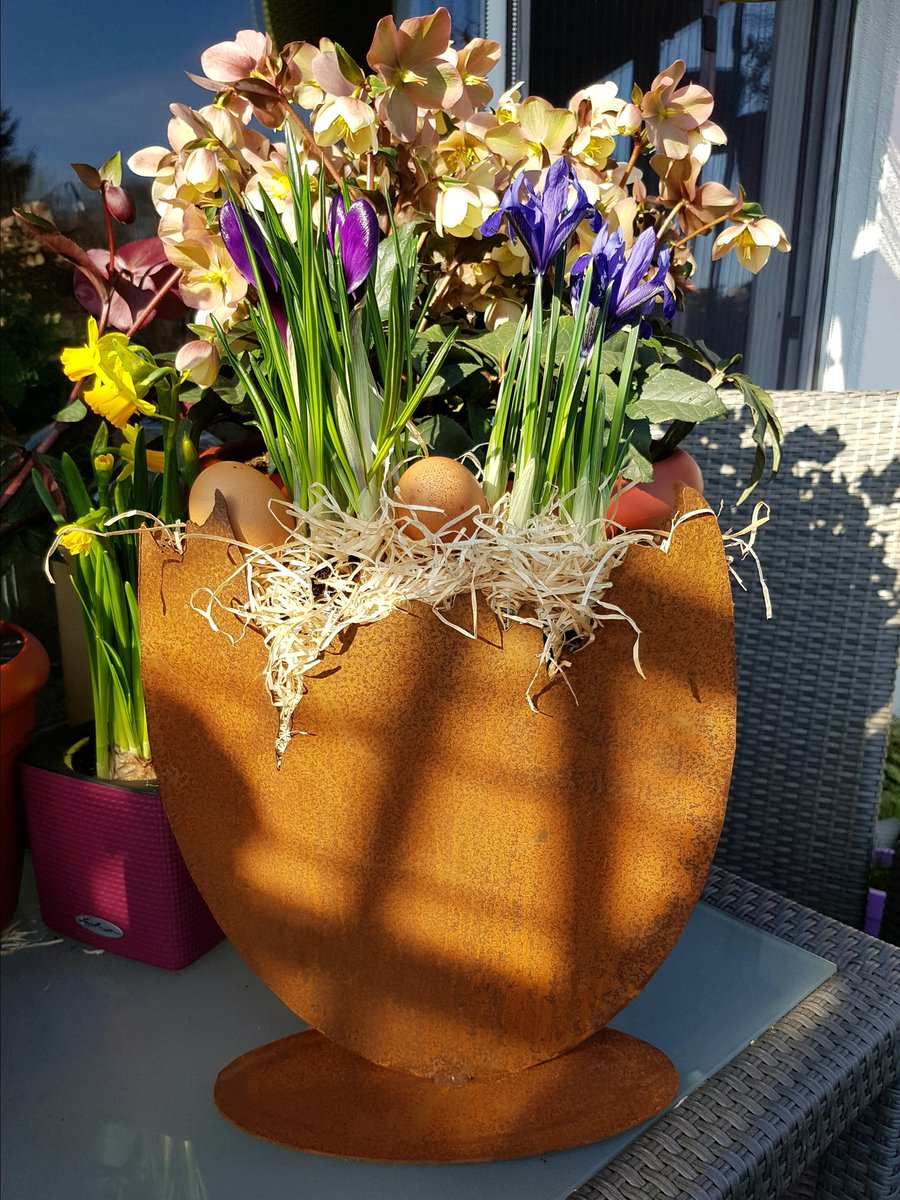 The Busily Bees On Twitter Fruhlingsdekorationen Spring Decoration