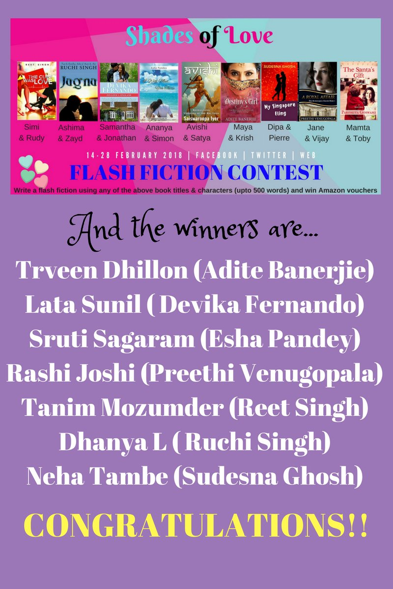 Shades of Love - #flashfiction contest - Read all the entries on the event page: facebook.com/events/3700482… #valentines2018