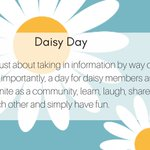 Image for the Tweet beginning: Reminder! Our Daisy Day tickets