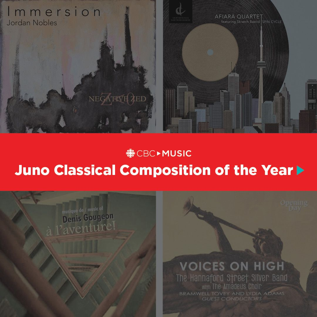 Lounge around to thirty years of past Juno winners for best Classical Composition and the nominees for 2018. STREAM works by Christos Hatzis, R. Murray Schafer, Marjan #Mozetich, @vivian_fung and MORE: https://t.co/x4eaCL1HC0  @TheJUNOAwards #JUNOS