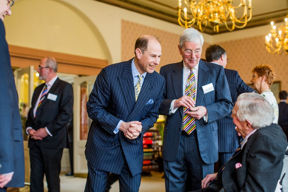 Members of The Clifton Club were thrilled to meet HRH Prince Edward in the bar today as they were getting ready to celebrate the Clubs' bicentenary!  https://www.thecliftonclub.co.uk/news/  #princeedward #earlofwessex #thecliftonclub200 #bristol #royalvisit