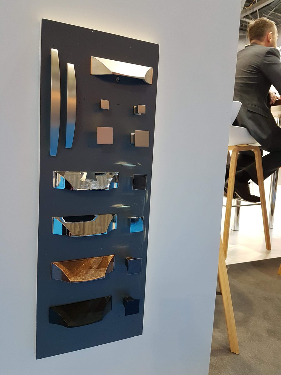 Come and see our versatile and resilient handle range, available in a range of finishes and sizes to suit the design you want to achieve and the necessary application #kbb18