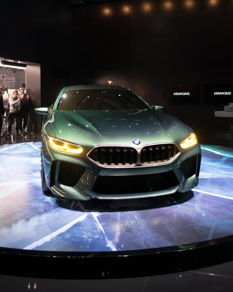 Look. At. Me. The BMW Concept M8 Gran Coupé! http://www.motorshowblog.com/en/bmw-concept-m8-gran-coupe/…  #BMWGIMS #GIMS2018