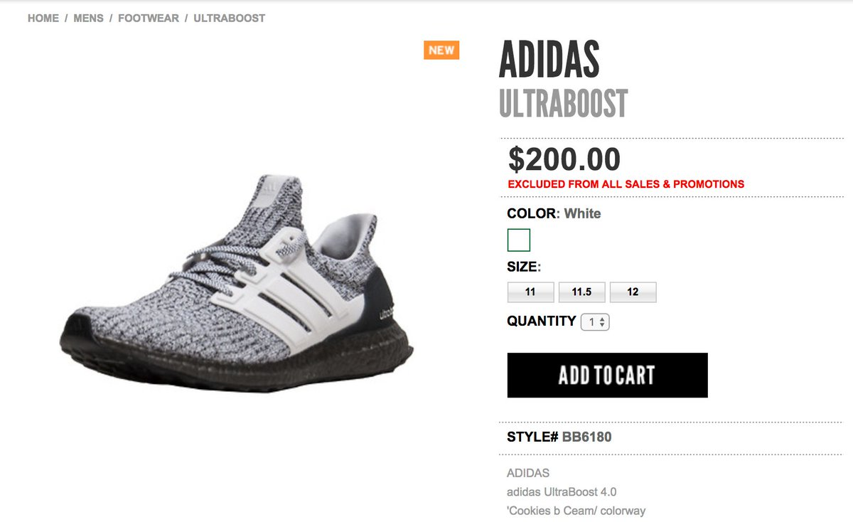24df69a8d ... hot sneaker shouts on twitter live via jimmy jazz adidas ultra boost  4.0 oreo buy here