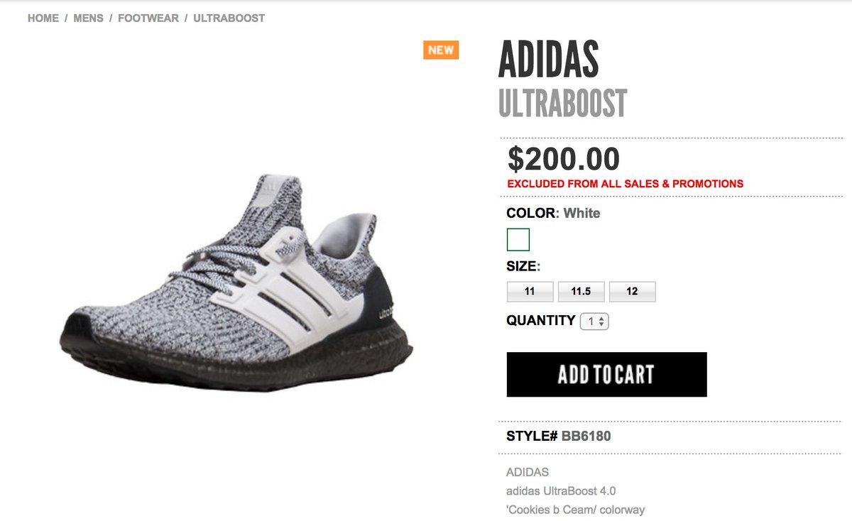 74416ef76 ... hot sneaker shouts on twitter live via jimmy jazz adidas ultra boost  4.0 oreo buy here
