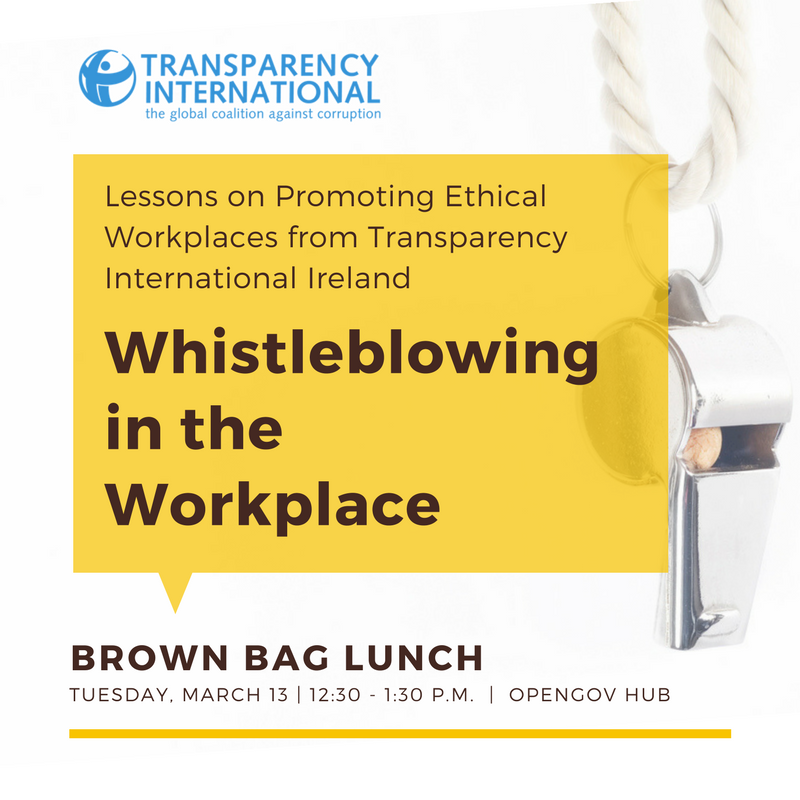 the ethics of whistleblowing in business Whistleblowing lazada is an organization with strong values of responsibility and integrity our written standards and policies contain general guidelines for conducting business with the highest standards of ethics.