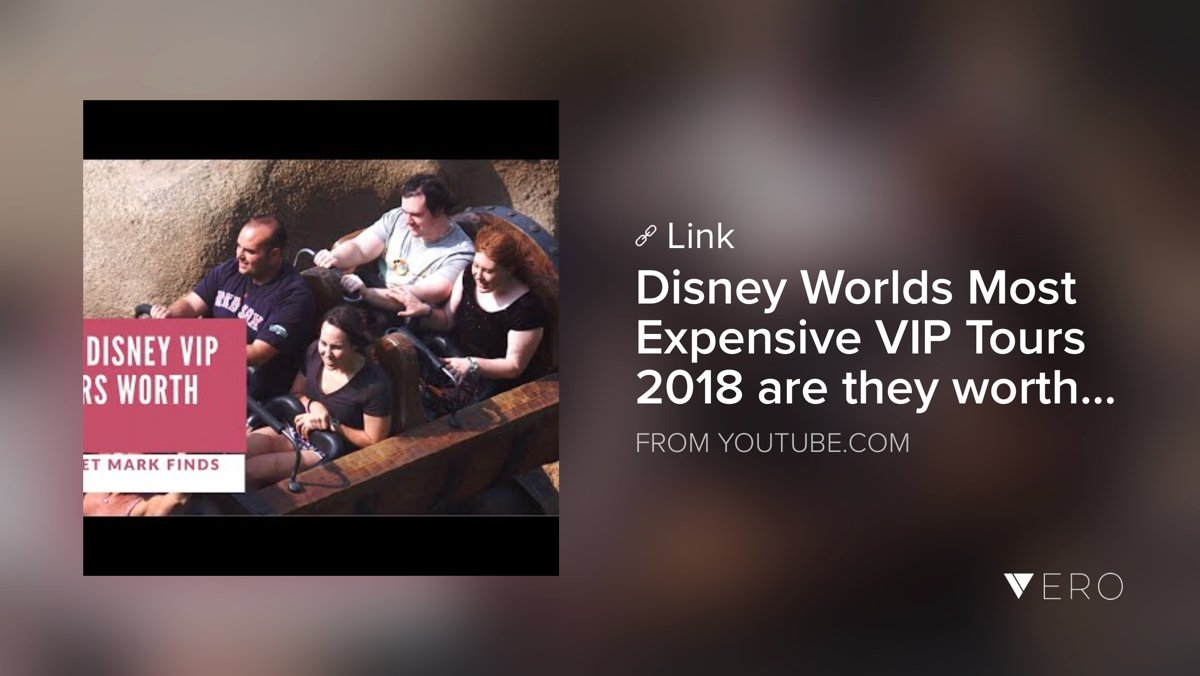 youtube.com/watch?v=rT4qMK… - This is how the celebrities do #DisneyWorld but what do you think pointless or extravagant? #travel #traveltuesday #travelchat #waltdisneyworld #SmallYotuberArmy #smallyotuber #disney #traveltips @VeroTrueSocial