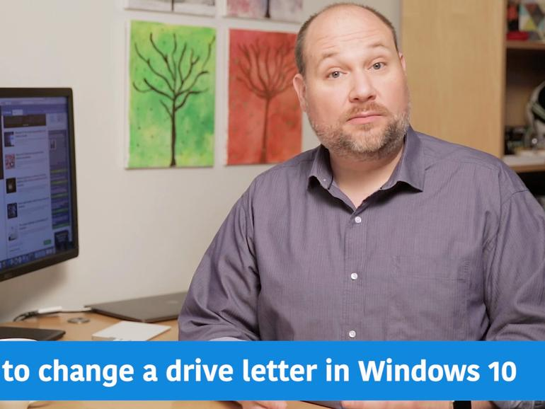 How to assign a drive letter in Windows 10  TechRepublic