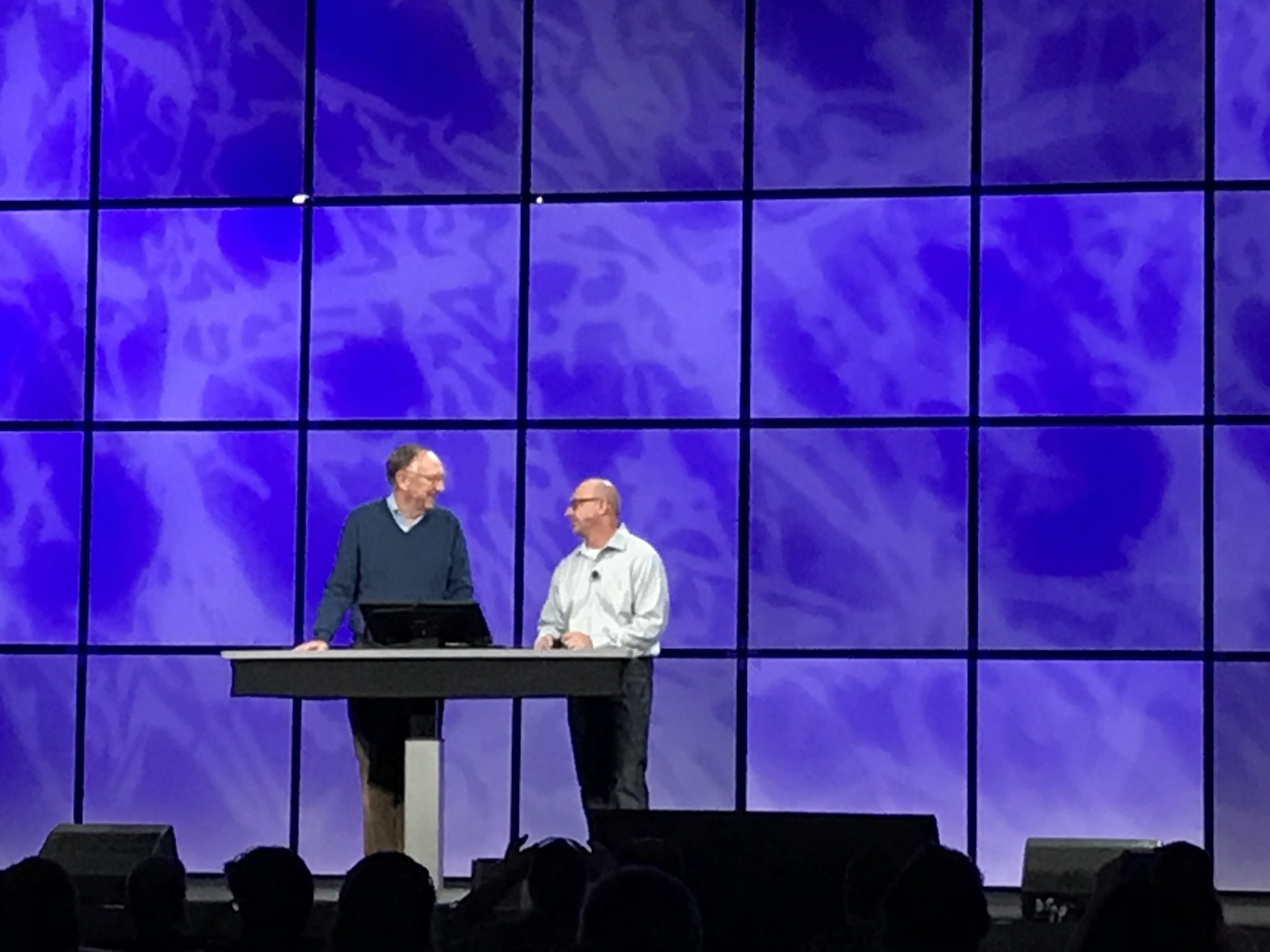 Jack Dangermond and Jim McKInney - DevSummit 2018