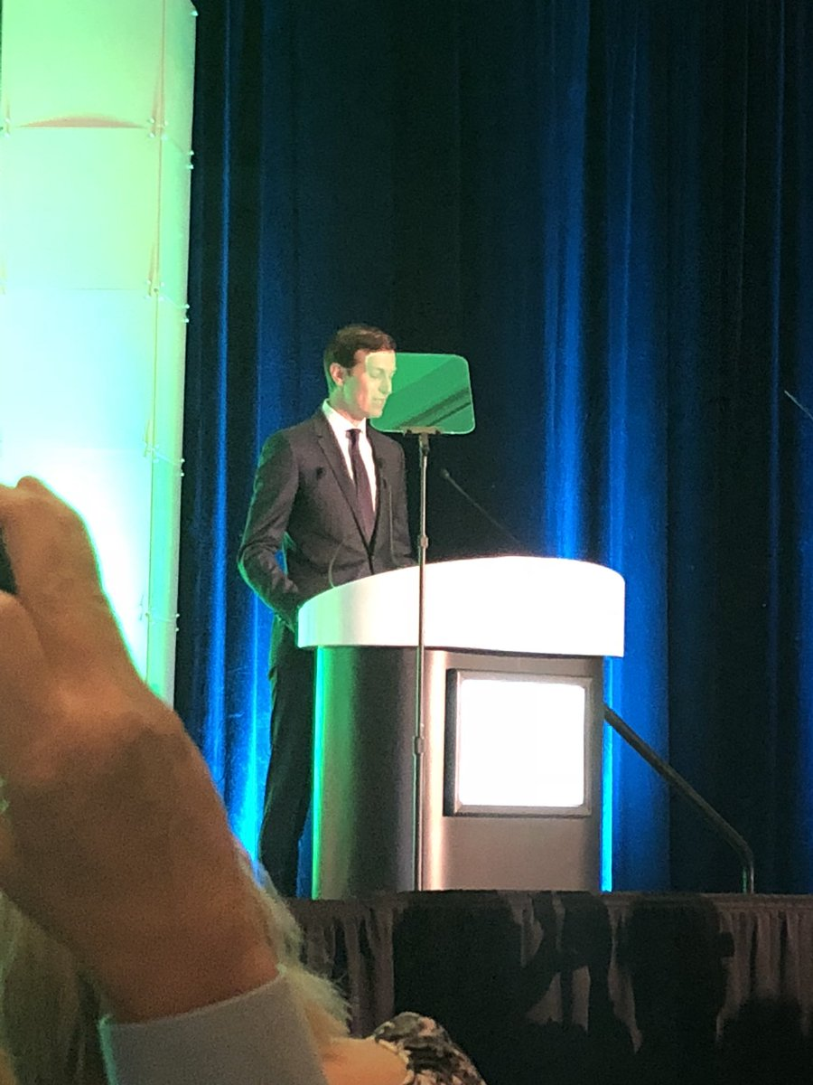"""""""Complete interoperability is the logical next step for healthcare"""" per Jared Kushner #HIMSS18 #himss #Engage4Health https://t.co/sIhEiafIkQ"""