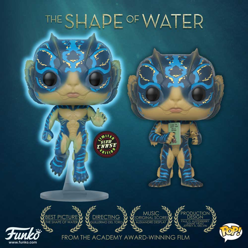 Funko On Twitter Quot Congrats To The Shape Of Water On Their