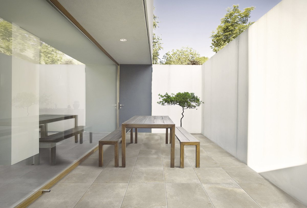 Intense Concrete Stone Effect Wall And Floor Tiles Four Colours Matt Finish Large Format Offers The Designer Maximum Freedom In Their Contemporary
