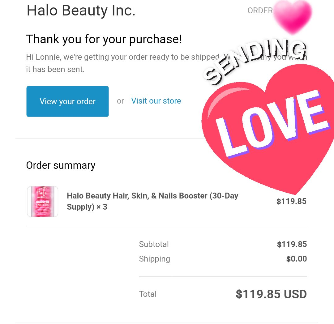 I just ordered from Halo Beauty. I just wanted to let you know that although I was skeptical I also want to try the product for a while before judging. I really hope they work for me because I adore your channel and this is a good chunk of money for me. ♡ you @GlamLifeGuru
