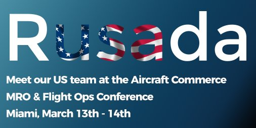 Meet our US team at the @AircraftCommrce Airline & Aerospace MRO & Flight Operations Conference in Miami 13, 14 March. https://t.co/79Fdar2RMO