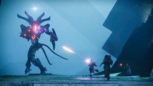 さぁ、Destiny 2の世界が リセットされました。 今週のナイトフォールは ピラミディオンです。 難易度威光で高得点を獲得すると エンブレムのバリエーションを 獲得できるかもしれませんよ。 戦闘準備はいいですか? ガーディアン?