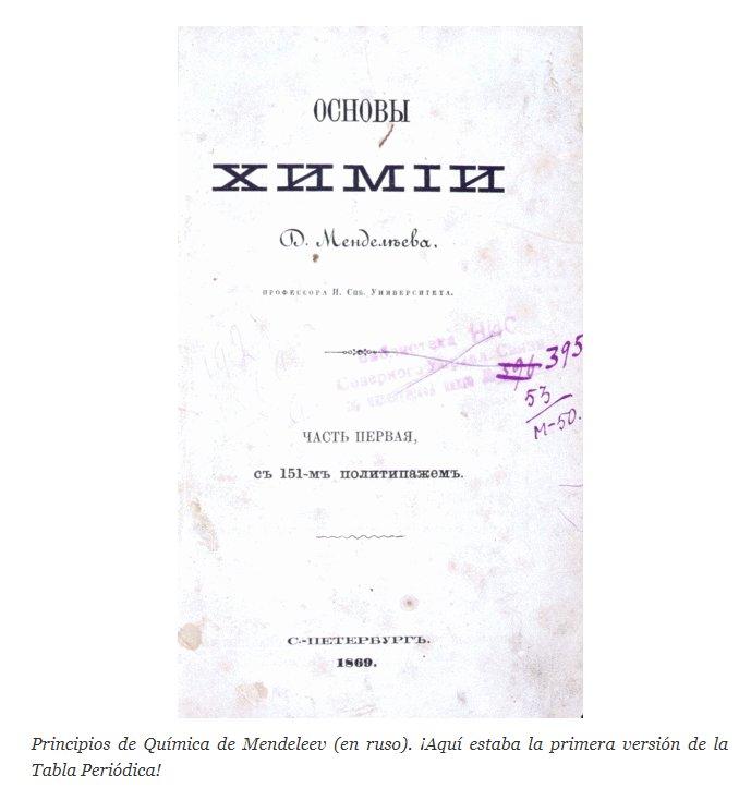 Ii unam on twitter sabasque la tabla peridica fue desarrollada tabla peridica fue desarrollada por mendeleev cuando escriba un libro de qumicageneral para sus estudiantes de la universidad de san petersburgo urtaz Images