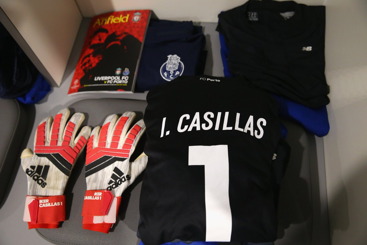 Porto No1 Iker Casillas will make his 178th UEFA club competition appearance tonight. 💪 #UCL