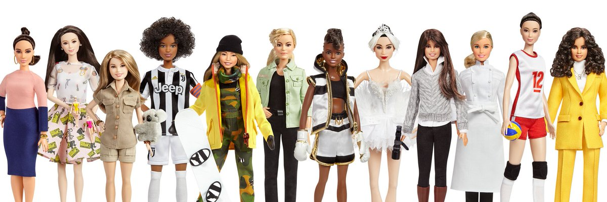 Ahh! Im so happy to be honored as a @Barbie Shero alongside these incredible women! #InternationalWomensDay #Barbie
