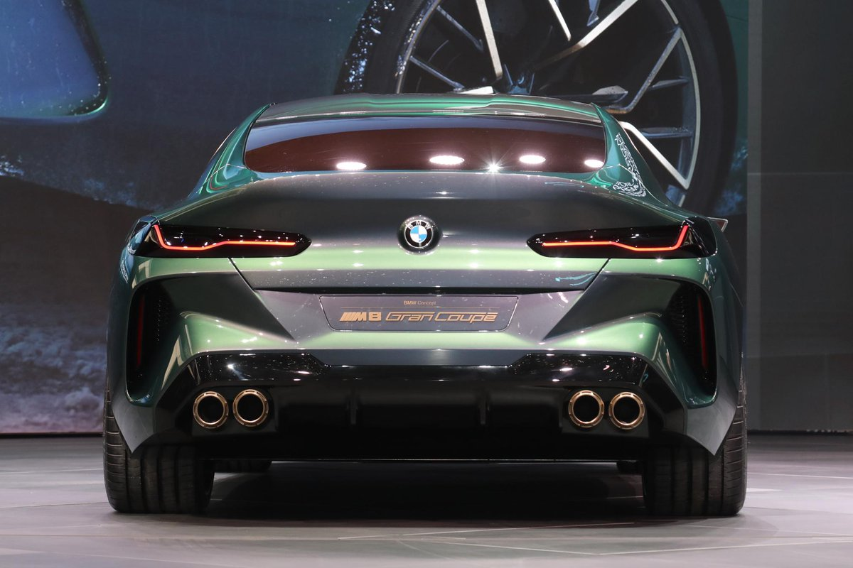 Motortrend On Twitter The At Bmw M8 Gran Coupe Concept Shares