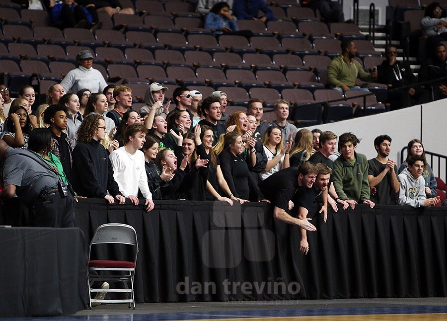Can't forget those cheering on their teams during tonight's matchup @coxhsthenest @BruinCrazies_