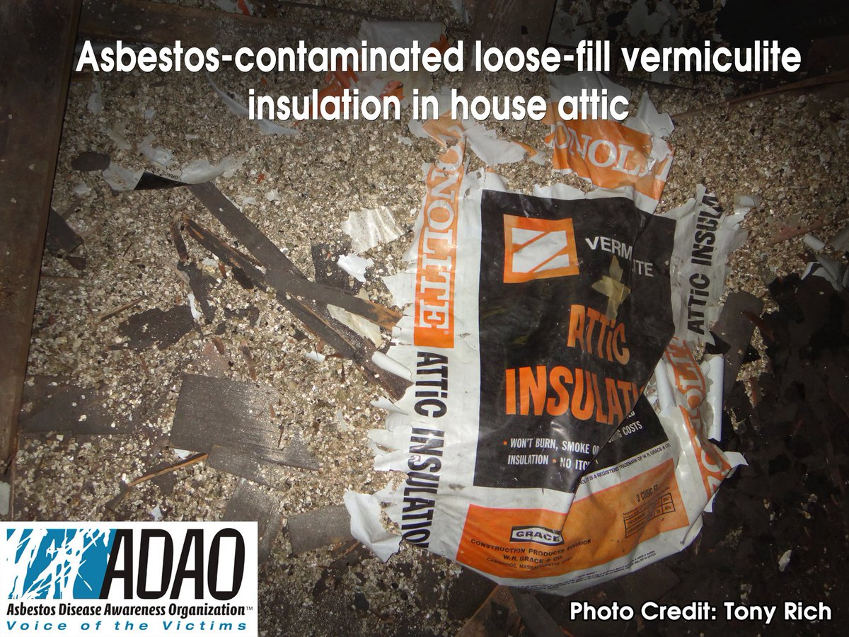 Linda reinstein on twitter adao see for yourself photo asbestos linda reinstein on twitter adao see for yourself photo asbestos contaminated loose fill vermiculite insulation in house attic asbestorama tsca solutioingenieria Images