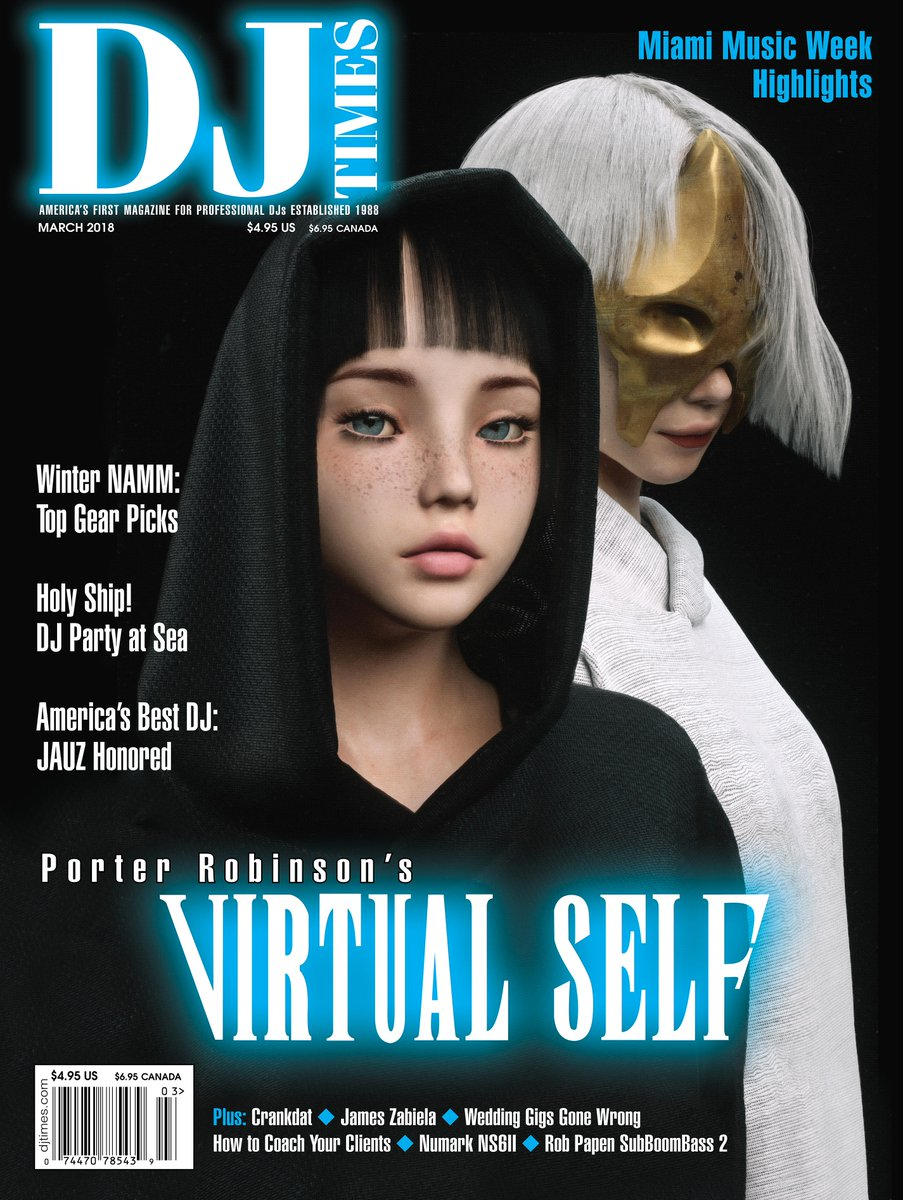hey congratulations @pathselector and @technic_Angel on your first magazine cover. @djtimesmag @virtual_self