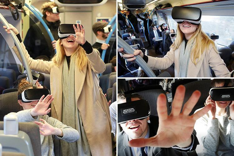 How can you make your commute less stressful? With VR headsets that transport you to the beach bit.ly/2tmOfvu via @TheSun