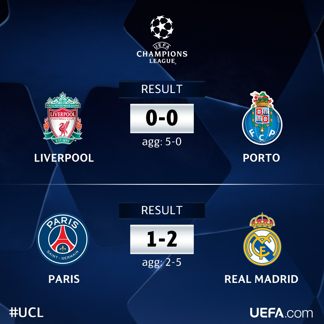 ???? ⚽???? UEFA Champions League 2017–18 season - match updates, fixtures, videos and discussiions ????⚽????