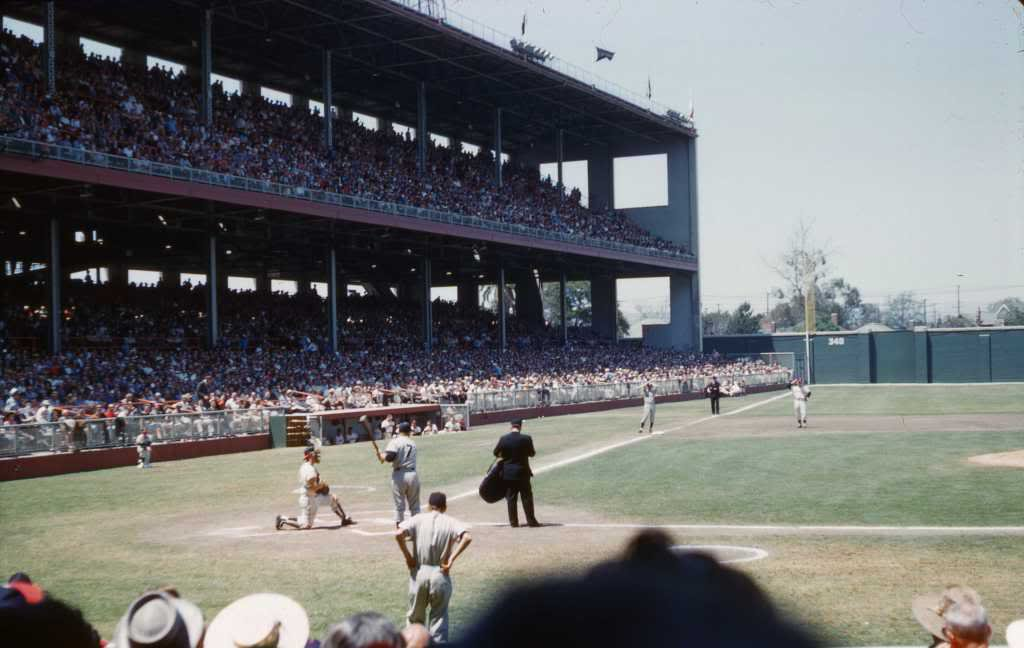 Old Time Baseball Photos On Twitter Quot Wrigley Field Los
