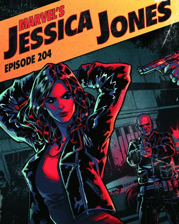 Here's the other cover I did design work for. The sweet cover art was by @kate_niemczyk #Netflix #jessicajones