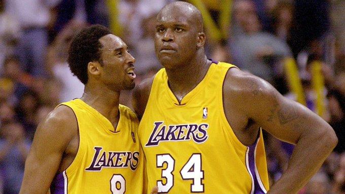 Happy 46th birthday to Shaq!  (Please, no fighting with Kobe today.)