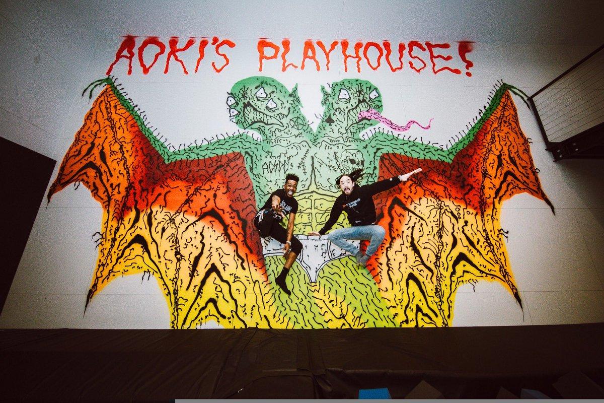 #aokijump #872. The Aoki x @lifeofdesiigner #AokisPlayhouse Jump. Las Vegas. March 6, 2018.