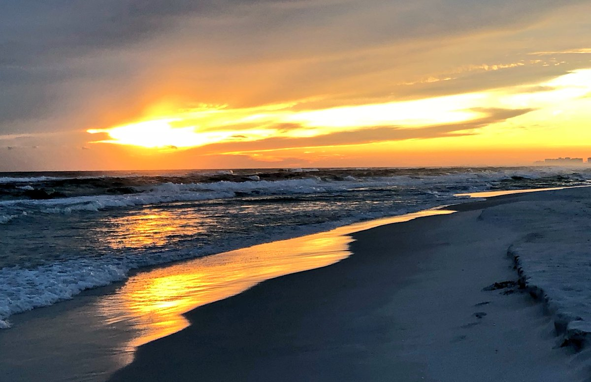Another beautiful #30A #sunset in #Santa...