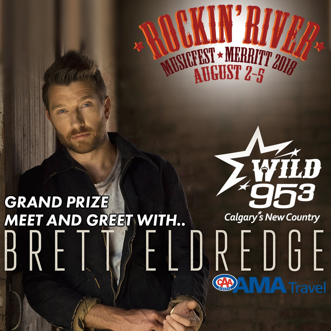 Wild953 hashtag on twitter we have meet and greets to bretteldredge to give away too listen over the next few weeks and you could qualify for 16 grand prizes kristyandbryce Gallery