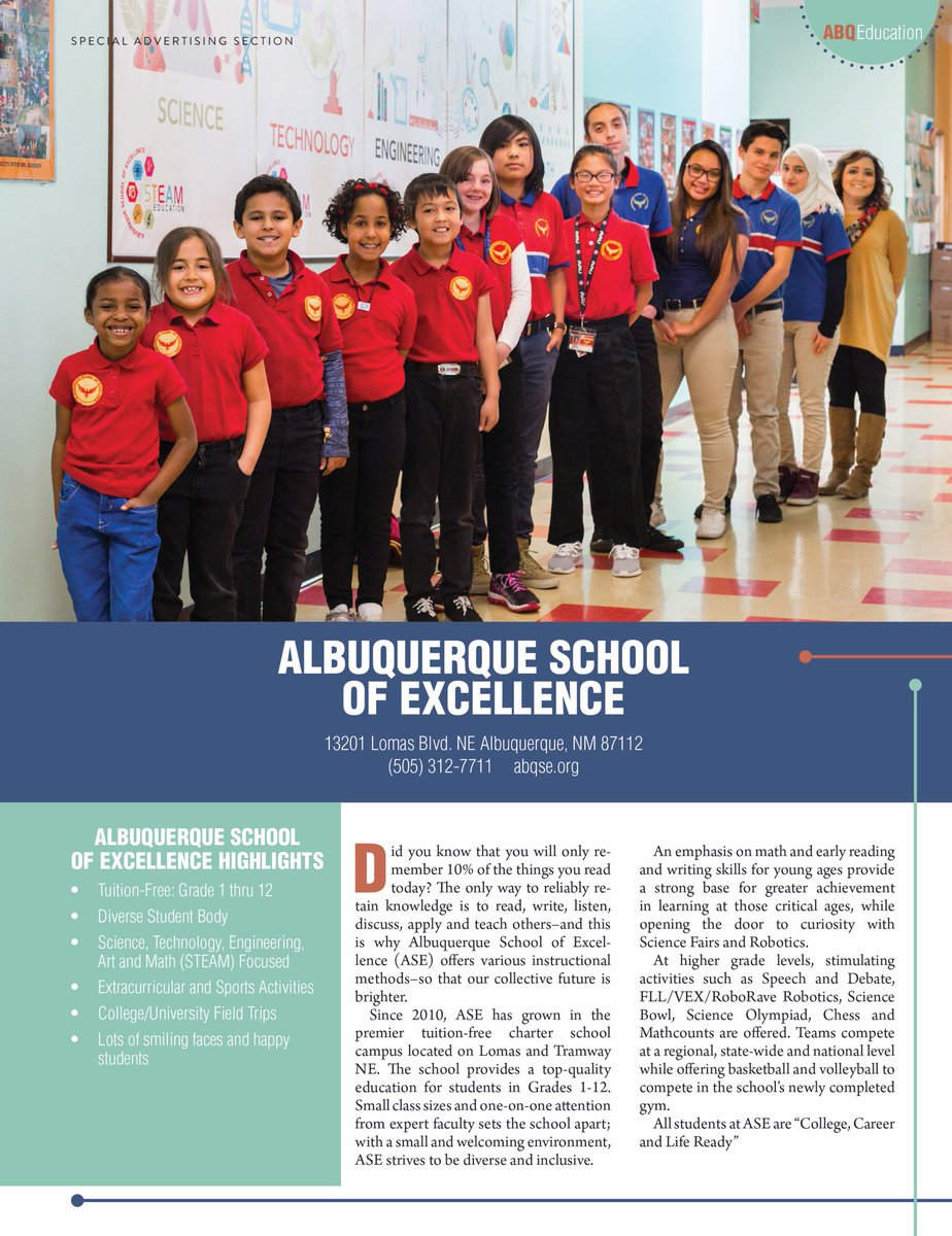 abqse org School of Excellence (@ABQ_SE) | Twitter