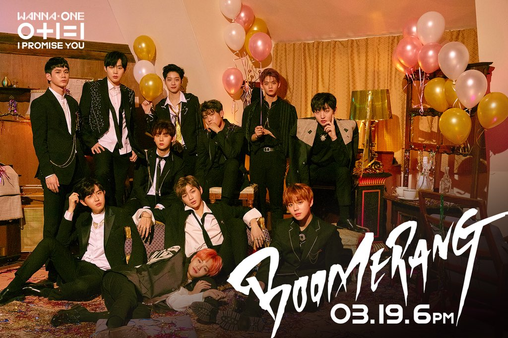 Wanna One On Twitter Wanna One L Boomerang 부메랑 Coming Soon