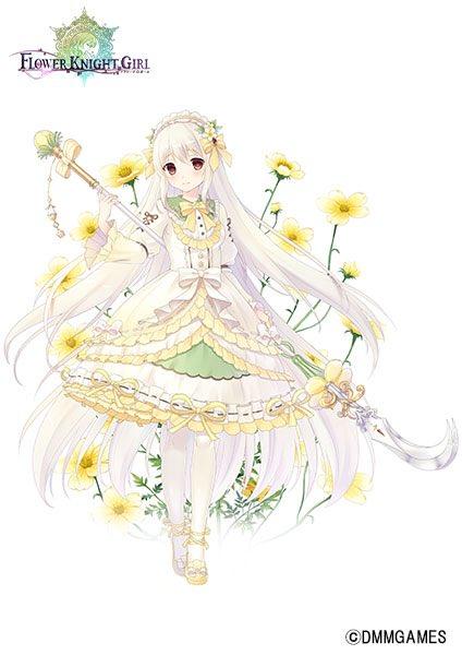 【告知】「FLOWER KNIGHT GIRL」様にて「ウィンターコスモス」を描かせて頂きました。どうぞよろしくお願いします( ᐢ˙꒳˙ᐢ ) #フラワーナイトガール #花騎士