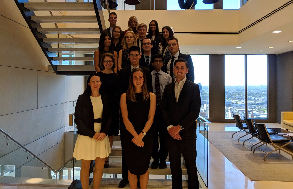Introducing our new 2018 law graduates who started at the firm today - welcome! #LifeatABL