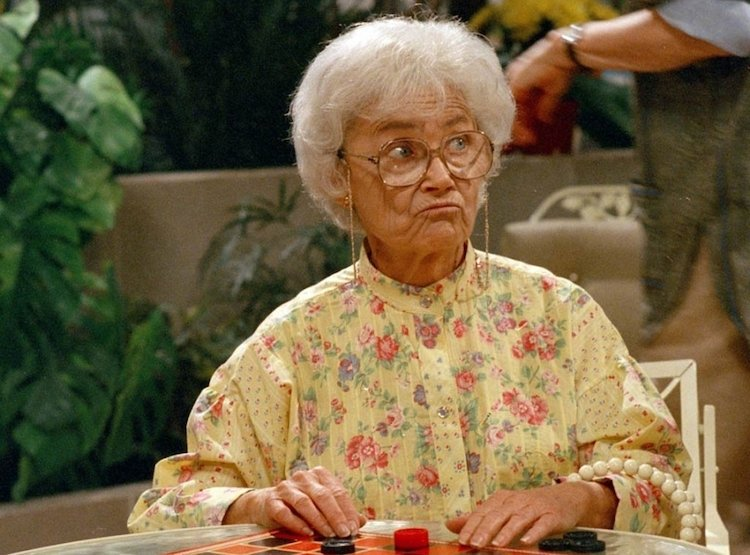 I had never really watched #GoldenGirls...