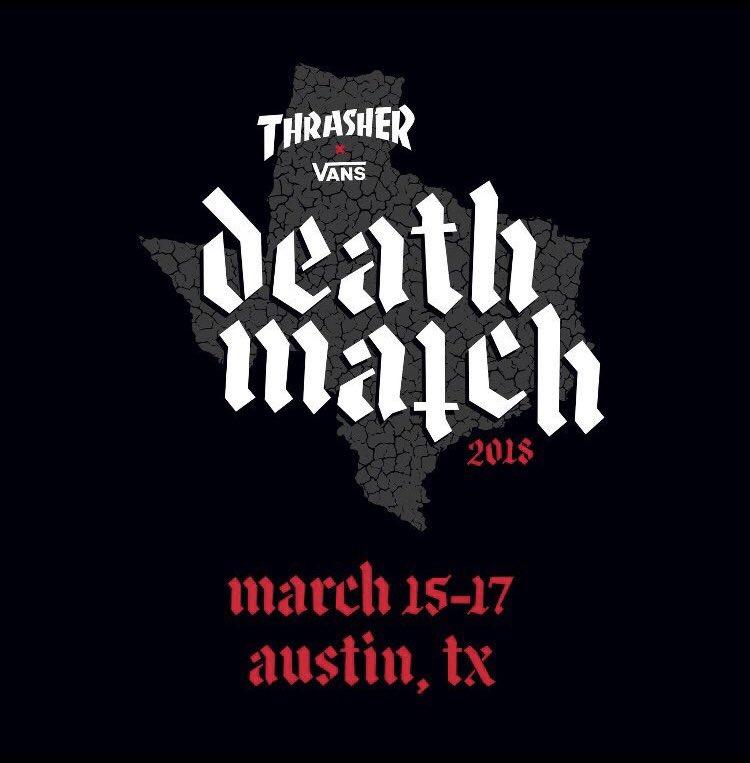 thrasher vans deathmatch sxsw