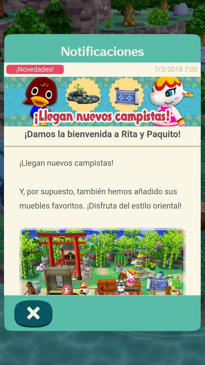 Animal Crossing Pocket Camp Recibe Nuevos Campistas Desaf Os De  # Muebles Paquito
