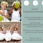 Image for the Tweet beginning: Happy #WeddingWednesday everyone... Let us
