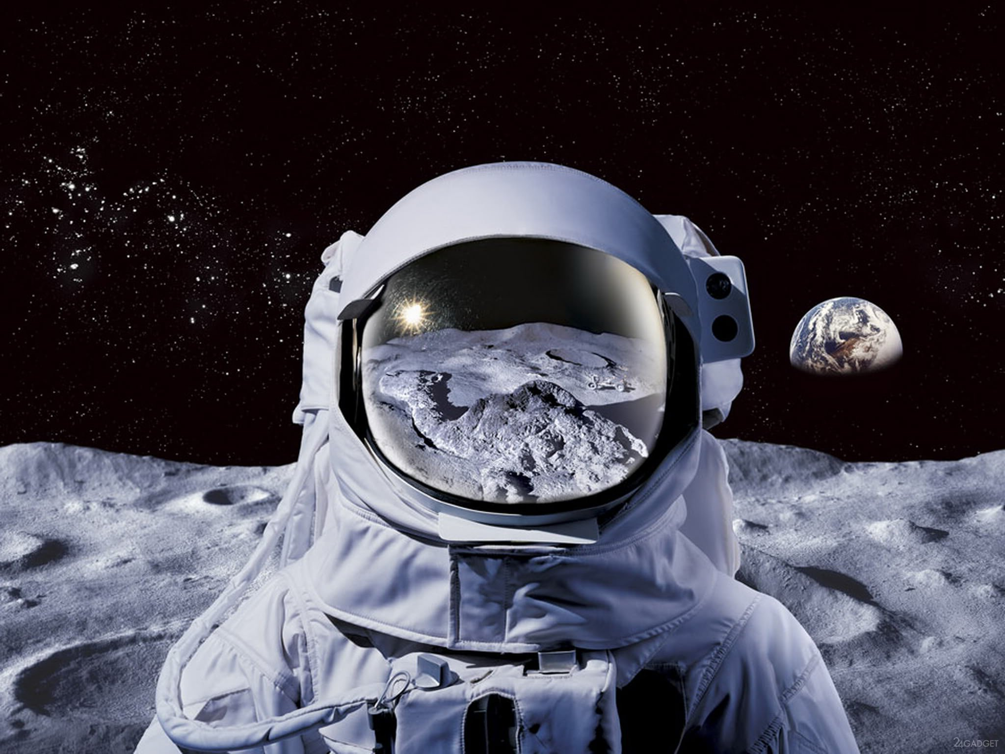 astronaut on the moon pictures - HD 1200×900