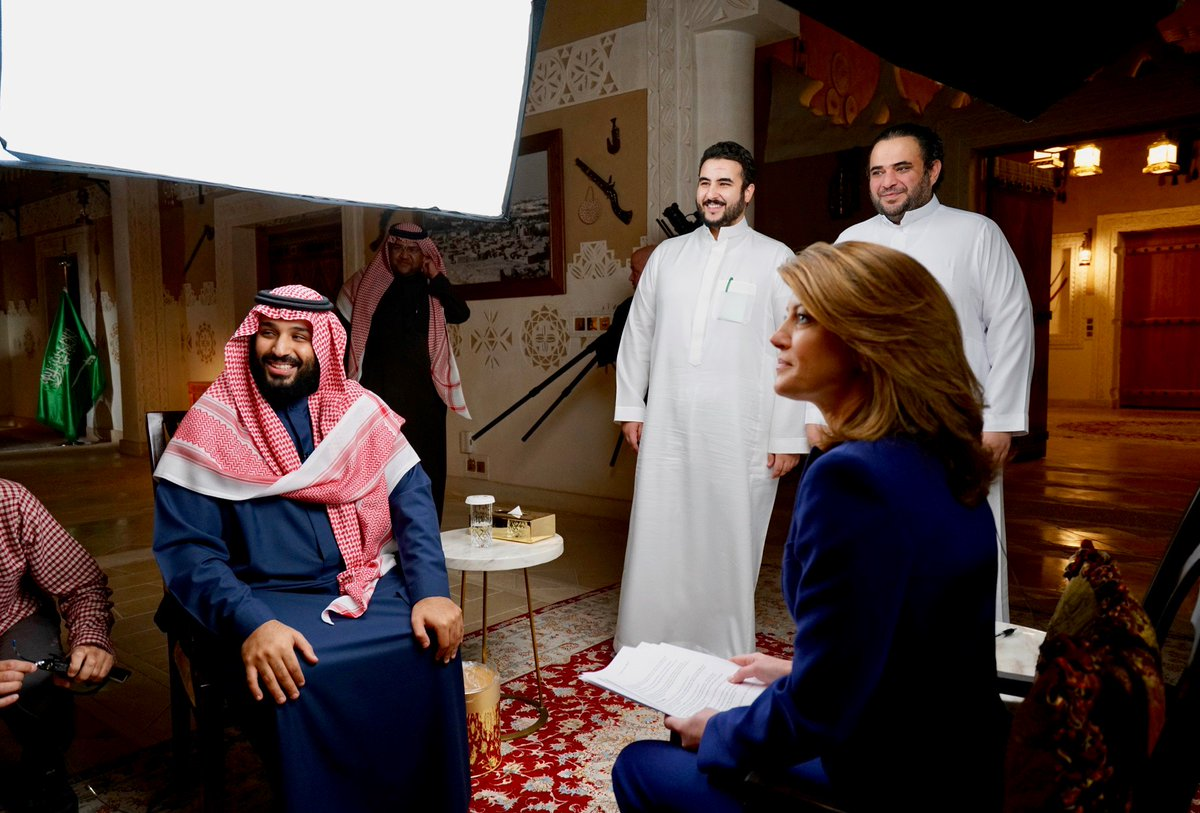 Saudi Crown Prince Mohammed bin Salman is one of the most powerful leaders in the Middle East. More on my exclusive interview for .