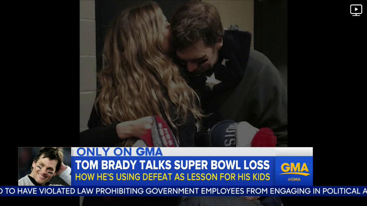 Tom Brady used his Super Bowl loss to teach his kids an important lesson about failure