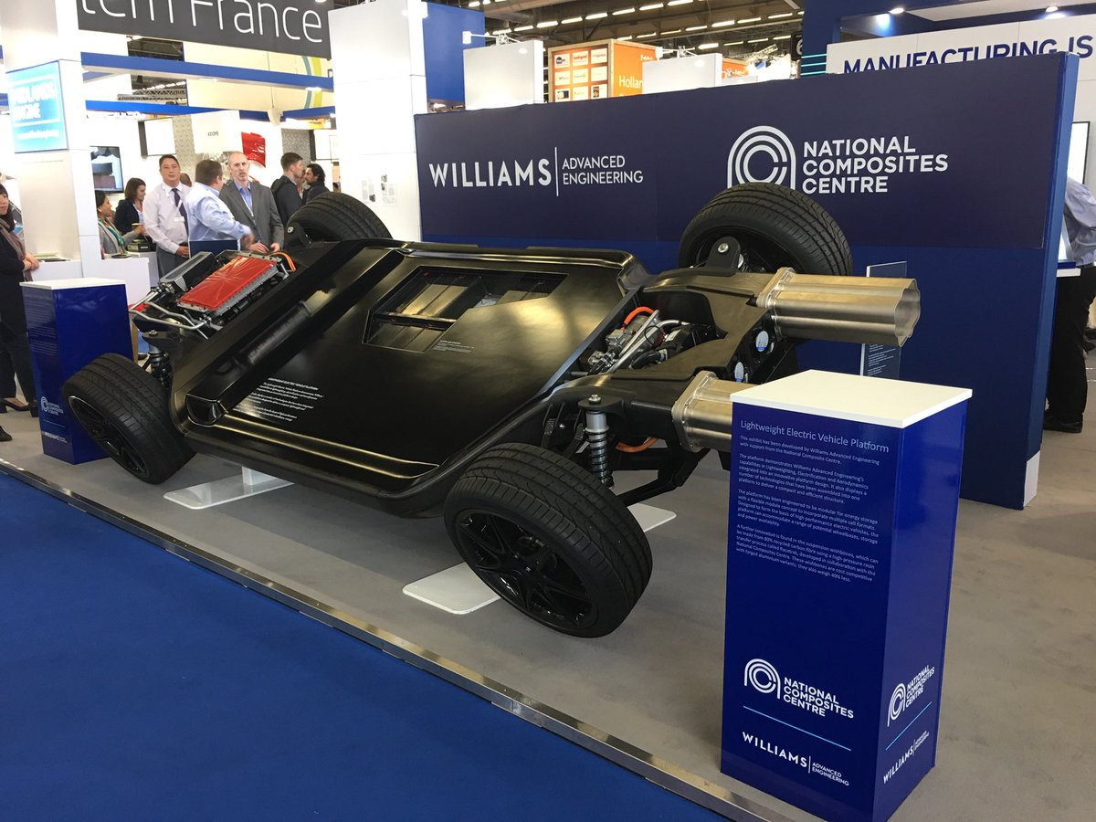 Http Www Williamsf1 Advanced Engineering News Williams Brings World Leading Composites Technology To Jec 2018